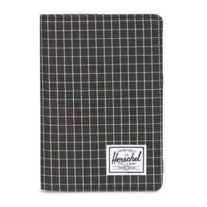 Herschel folder Raynor + Passport Holder black grid 10373-01579