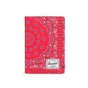 Herschel folder Raynor Passport Holder red bandana 10152-01249
