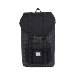 Herschel plecak Little America Backpack black gridblack rubber 10014-01579