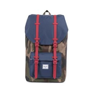 Herschel plecak Little America Backpack woodland camo / navy red 10014-00309