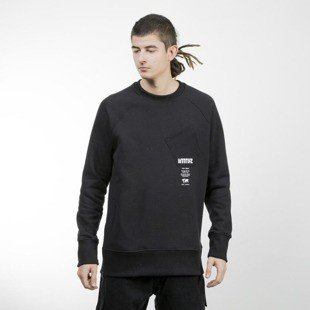 Intruz bluza Pocket Crewneck black
