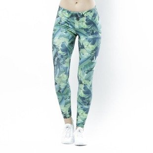 Jungmob legginsy Fitness Botanica leggings multicolor