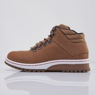 K1X buty zimowe H1ke Territory Superior dark honey / red (1000-0219/7604)