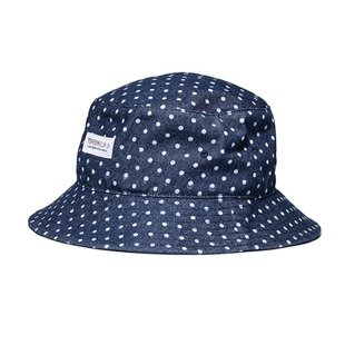 Kapelusz Turbokolor Bucket Hat dots navy