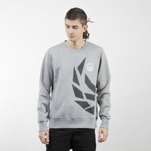 Koka bluza Crewneck Half Of Fame heather grey