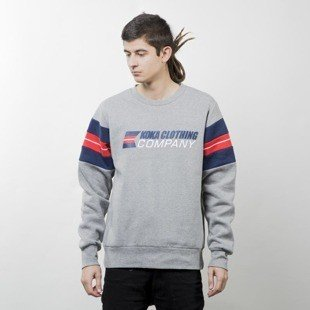 Koka bluza Crewneck Tommi heather grey
