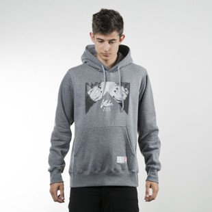 Koka bluza sweatshirt Hoodie Hands Off heather grey