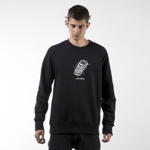 Koka bluza sweatshirt Mobile crewneck black