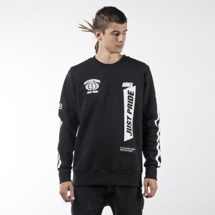 Koka bluza sweatshirt Supporter crewneck black