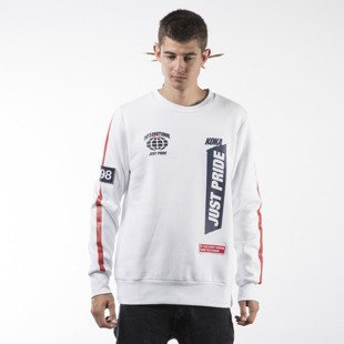 Koka bluza sweatshirt Supporter crewneck white