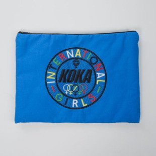 Koka etui International Girls Computer Case blue