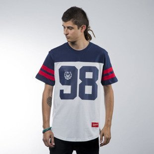 Koka koszulka t-shirt Hall navy / white