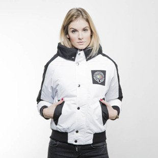 Koka kurtka Queensbridge Girls Jacket white / black
