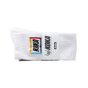 Koka podkolanówki Broadway Girls High Socks white