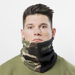 Komin Mass Denim Neck Warmer Half Camo woodland camo