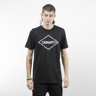 Koszulka Carhartt WIP Diamond T-Shirt black / white