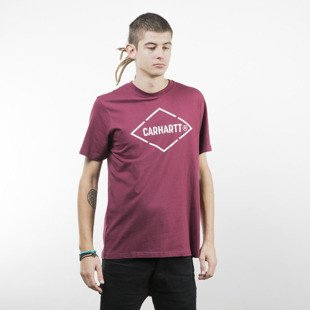 Koszulka Carhartt WIP Diamond T-Shirt varnish / white