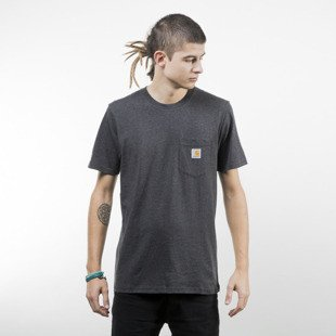 Koszulka Carhartt WIP Pocket T-Shirt black heather
