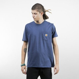 Koszulka Carhartt WIP Pocket T-Shirt blue heather
