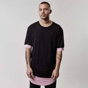 Koszulka Cayler & Sons Deuces Long Layer Tee black CSBL-SS17-AP-25