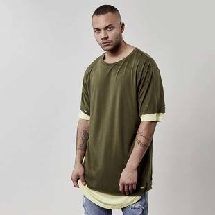 Koszulka Cayler & Sons Deuces Long Layer Tee olive CSBL-SS17-AP-27