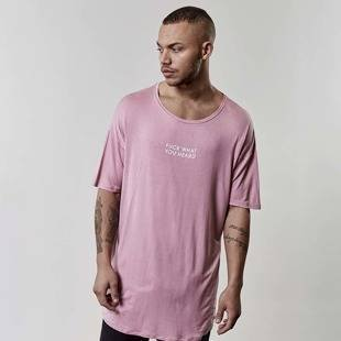 Koszulka Cayler & Sons You Hear Drop Shoulder Scallop Tee mauve CSBL-SS17-AP-33
