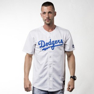 Koszulka Majestic Athletic T-shirt Jersey MLB Dodgers Replica white (MC7DODHWA00)