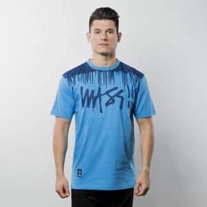 Koszulka Mass Denim T-shirt Drip Top blue