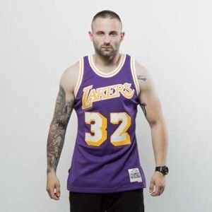 Koszulka Mitchell & Ness Los Angeles Lakers - Magic Johnson purple Swingman Jersey