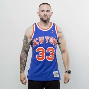 Koszulka Mitchell & Ness New York Knicks - Patrick Eving blue Swingman Jersey