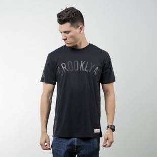 Koszulka Mitchell & Ness t-shirt Brooklyn Nets black Bank Shot Tailored