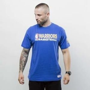 Koszulka Mitchell & Ness t-shirt Golden State Warriors royal Team Issue 2 Traditional