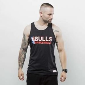 Koszulka Mitchell & Ness tank top Chicago Bulls black Team Issue
