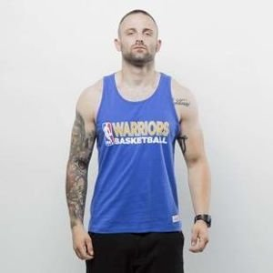 Koszulka Mitchell & Ness tank top Golden State Warriors royal Team Issue