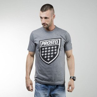 Koszulka Prosto Klasyk T-shirt Shield mh grey
