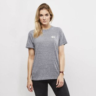 Koszulka Stussy Puff Stock Boyfriend Tee grey heather WMNS
