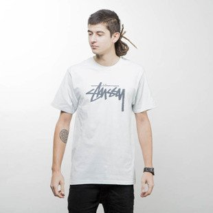Koszulka Stussy t-shirt Stock Tee ice blue