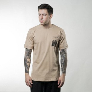 Koszulka We Peace It T-shirt Nobody's Perfect beige