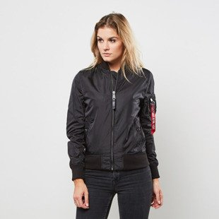 Kurtka Alpha Industries Bomber MA-1 TT black WMNS