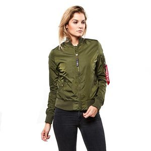Kurtka Alpha Industries Bomber MA-1 TT dark green WMNS