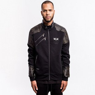 Kurtka Cayler & Sons BLACK LABEL Moto Crew Jacket black / woodland (BL-CAY-AW16-AP-05)