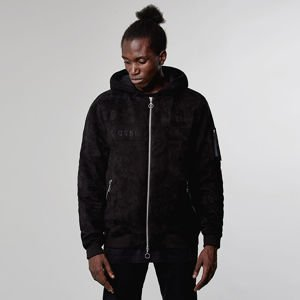 Kurtka Cayler & Sons Black Label Hooded Bomber Jacket black