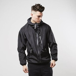 Kurtka Phenotype Black Reflective Windrunner black