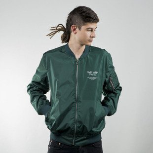 Kurtka We Peace It Japan Bomber Jacket Action green