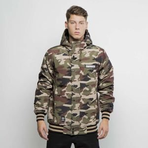 Kurtka zimowa Mass Denim District Jacket woodland camo