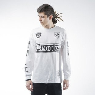 Longsleeve Crooks & Castles Soldier white