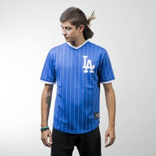 Majestic Athletic koszulka Kabor Vneck Poly Tee Los Angeles Dodgers blue MLD2373BC