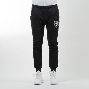 Majestic Athletic spodnie dresowe Renod Basic Slim Jogger Oakland Raiders black MOR2370DB