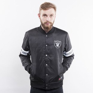 Majestic kurtka Oakland Raiders black Elmwood Satin Jacket