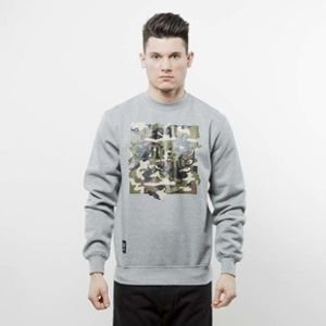 Mass Denim bluza Patrol Crewneck light heather grey